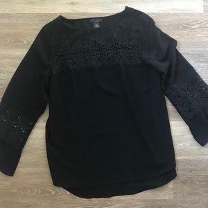 Beautiful black & lace blouse